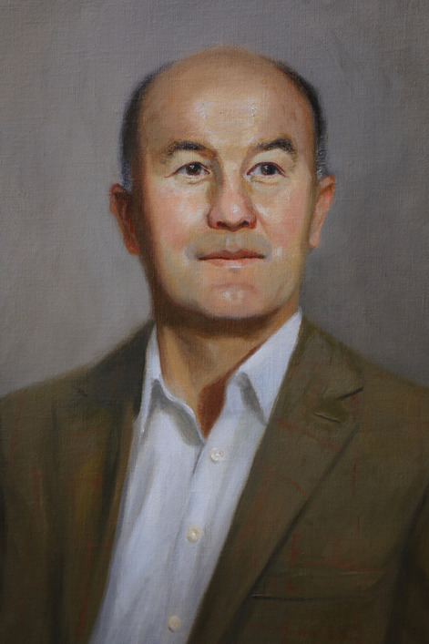 oil portrait commission company director